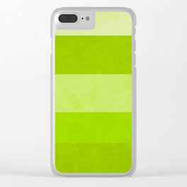 A Greenery World is Possible Clear iPhone Case