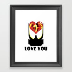 Eye Love You Framed Art Print