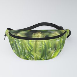 Green spikes Fanny Pack