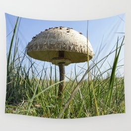 Parasol mushroom Wall Tapestry