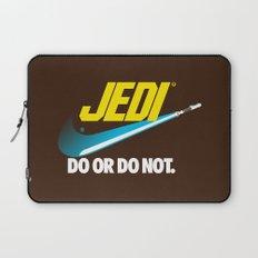 Brand Wars: Jedi - blue lightsaber Laptop Sleeve