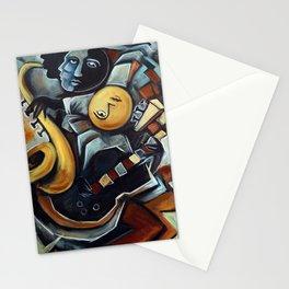 Indigo Blues Stationery Cards