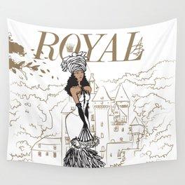 Kayla Royal Wall Tapestry