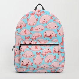 Blobfish Pattern Backpack