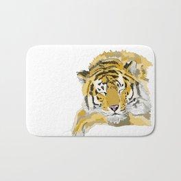 Sleepy Tiger Bath Mat