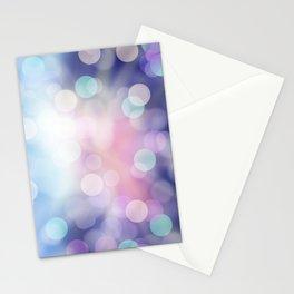 Bokeh Shine Stationery Cards