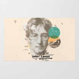 john lenon-imagine Rug
