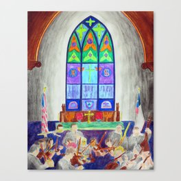 Church of the Holy Cross - 7 June, 2015 Canvas Print