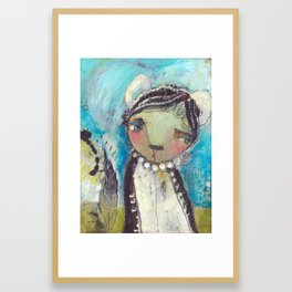 Beauty In The Unknown Framed Art Print