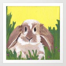 Young Peter Rabbit - Panel 2 Art Print