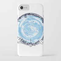 cities iPhone & iPod Cases featuring Paronamic NZ by MARIA BOZINA - PRINT