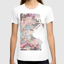 Dublin map T-shirt