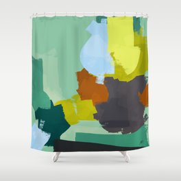 Palette for young people Shower Curtain