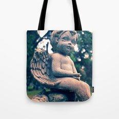 Cemetery putto Tote Bag