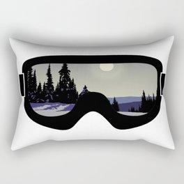 Morning Goggles Rectangular Pillow
