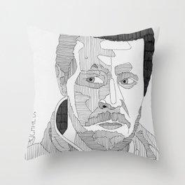 Richard. Throw Pillow