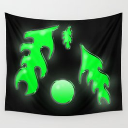 Neon Ooze Wall Tapestry