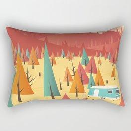 Go out Rectangular Pillow