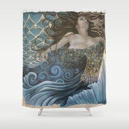 Mermaid Bliss Shower Curtain