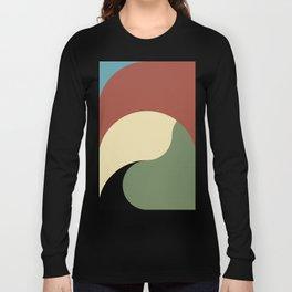 Huge Terrain Waves, or Earth waves. Long Sleeve T-shirt