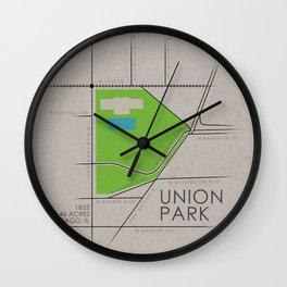 Chicago - Union Park Wall Clock