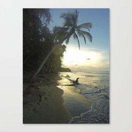 Punta Uva, Costa Rica Canvas Print