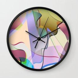 abstract-1 Wall Clock
