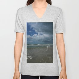 Summer At The Seaside Unisex V-Neck