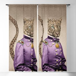 Grand Viceroy Leopold Leopard Blackout Curtain