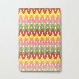Summer Pattern 8 (Hot Dog) Metal Print
