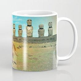 EASTER ISLAND SCENE Coffee Mug