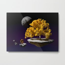 Horn of the Yellow Grove Metal Print