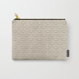 Blond Trellis Carry-All Pouch
