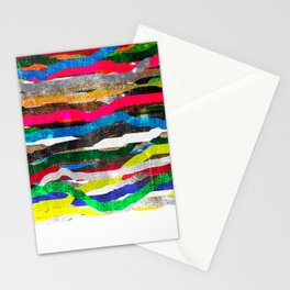 fancy stripes 2 Stationery Cards