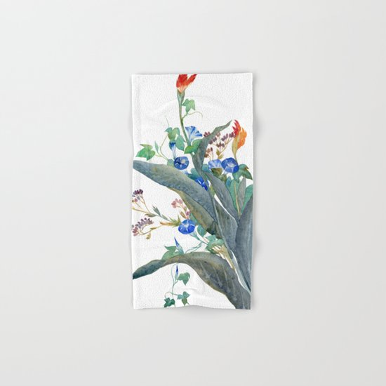 Feng shui flowers Hand & Bath Towel