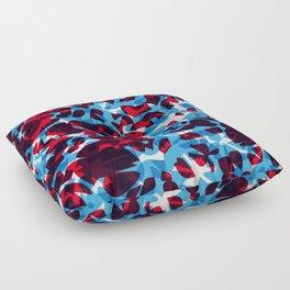 hidden green Floor Pillow