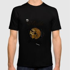 His Master's voice Mens Fitted Tee Black MEDIUM