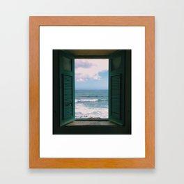 Atlantic Morning Framed Art Print