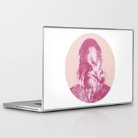 chewbacca Laptop & iPad Skins featuring Chewbacca by NJ-Illustrations