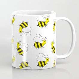 Bumble Bee Pattern Coffee Mug