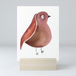 Anxiety Bird Mini Art Print