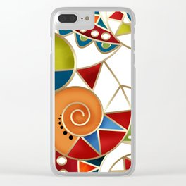 The art design. Carousel. Clear iPhone Case