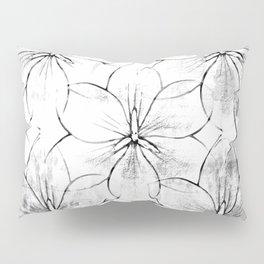 Flower Sketch 8 Pillow Sham
