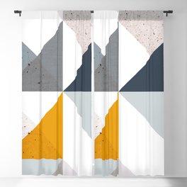Modern Geometric 18/2 Blackout Curtain