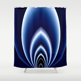 Abstrakt - Polarlicht Shower Curtain