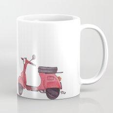 Vespa - ballpoint pen Mug