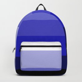 Deep Ocean Floor - Color Strips - Colors of Travel Backpack