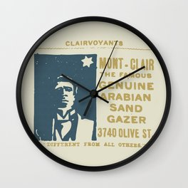 Arabian Sand Gazer Wall Clock