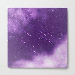 Meteors Metal Print