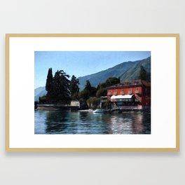 Tremezzo Framed Art Print